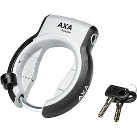 Axa Defender Rahmenschloss Retractable silber
